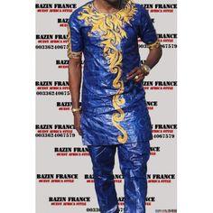 Beau bazin homme Bazin riche getzner du Mali qualité supérieur Couture chic et exceptionnelle Livré avec chaussure assortis Nouveau - Léger et confortable Paiement simple et 100% sécurisé Livraison gratuite