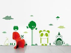 Sticker mural en vinyle FRIENDS I by Domestic | design TADO