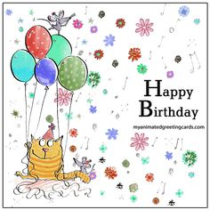 pin on happy birthday Funny Happy Birthday Gif, Birthday Greetings Friend, 30th Birthday Wishes, Happy Birthday Wishes Messages, Free Birthday Card, Happy Birthday Images, Happy Birthday Cards, Bday Cards, Facebook Birthday Cards
