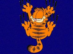 Carte virtuelle Garfield http://www.hotels-live.com/cartes-virtuelles/garfield.html #CartePostale #Wallpaper