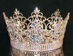 TRF00079ABGOLD Tiara Connection, Wholesale Crowns, Pageant Tiaras ...