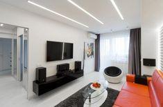 Egy sötét lakás új élete - fiatalok 60m2-es kétszobás lakása modern, világos berendezéssel, sok fehérrel és sárga árnyalatokkal