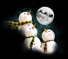 Snowmen and Santa