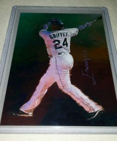 Ken Griffey Jr #5 Sketch Card MLB Seattle Mariners Signed Limited Edition 16/25