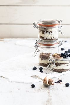 lemon chocOlate cheesecake pots