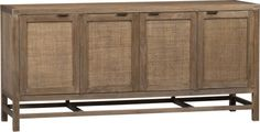 "Blake Grey Wash 68"" Media Console in Media Stands, Consoles 