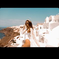 Can't we all just live on a honeymoon forever? Preferably in Greece? Via by Beach Bride by Chic Chic Wedding, Wedding Gowns, Bridal Bikini, Beach Bachelorette, Island Weddings, Maid Of Honor, Mykonos, Don't Forget, Bridesmaids