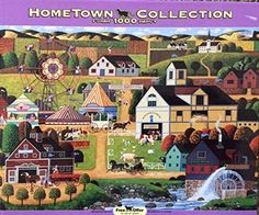 Hometown Collection 1000 Piece Puzzle - Chester County Fair