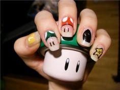 super mario nails again
