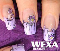 pastel gel Pastel, Nails, Beauty, Finger Nails, Cake, Ongles, Beauty Illustration, Nail, Crayon Art