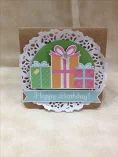 Cartão de aniversário/ happy birthday