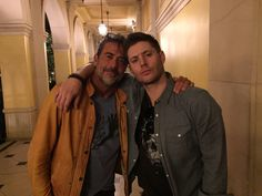 "Jensen tweet: ""just hangin with pops"" - #JDM #VegasCon2015"