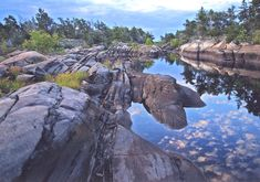 French River scenery lets plan a kayak trip! Ontario Travel, Bay Photo, River Cottage, Kayak Adventures, Parks Canada, River Park, Visit Canada, Go Hiking, Canada Travel