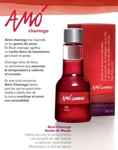 AMO CHAMEGO ACEITE PARA MASAJES NATURA precio $216.00. natura.coyoacan@yahoo.com.mx Whatts 5531066755
