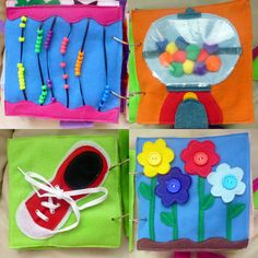 Felt Quiet Book for babies toddlers and young by SweetJuicyApril, $150.00