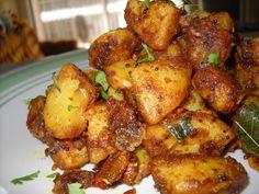 Savitha's Kitchen: Potato Roast (Urulai fry)