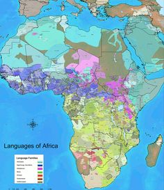 The amazingly diverse languages of Africa