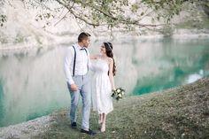 Destination Wedding Photographer - Kalksee - Tirol - Wedding in Italy - Fine Art Wedding Photographer Elif Tuna