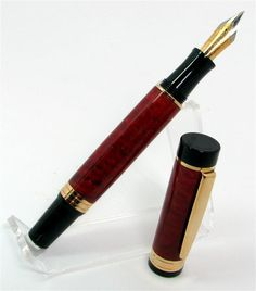 d71d676b450f5 Red Velvet Fountain Pen - Fisher of Pens