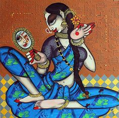 New artwork added on IndianArtCollectors! Rhythmic - 6 by Varsha Kharatmal See more great artworks at: http://www.indianartcollectors.com/index.php