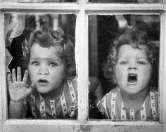 Two Little Twin Girls by Thurston Hopkins Verhalen Clevenger Chance -- Sophie and Addison Love Twins, How To Have Twins, Twin Girls, Twin Sisters, Vintage Photographs, Vintage Photos, Image Film, Vintage Children, Vintage Twins
