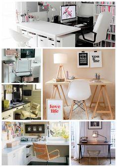 Abitare Decoración BLOG  zona de trabajo en casa