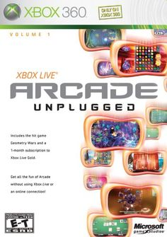 Xbox Live Arcade Unplugged Vol. Xbox 360 Arcade, Xbox 360 Games, Arcade Games, Hit Games, News Games, Xbox 360 Console, Latest Video Games, Battlefield 4, Amazon Video
