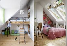 Very Small Bathroom, Bunk Beds, Kids Room, Ikea, Interior Decorating, Loft, Inspiration, Furniture, Tiny Houses