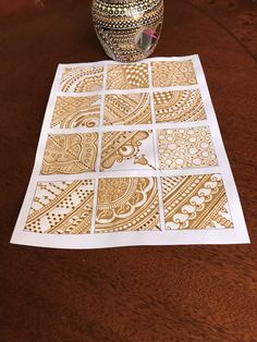 This filler elements for intricate mehndi design help for beginners Palm Mehndi Design, Basic Mehndi Designs, Latest Bridal Mehndi Designs, Beginner Henna Designs, Henna Art Designs, Mehndi Design Pictures, Wedding Mehndi Designs, Mehndi Designs For Fingers, Dulhan Mehndi Designs