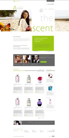 ARRAYA - Home Page Design