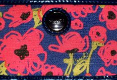 I'm auctioning 'NWOT Coach Poppy Floral Print Chain Skinny ID Wallet ' on #tophatter