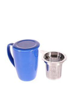 """Tasse """"For Life"""" de couleur bleue"""