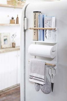 21 Easy Ways to Add Extra Storage to Your Kitchen #purewow #home #organizing #kitchen #shopping