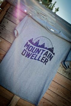Mountain Dweller Shirt  Adult Size XLarge by Seventy9Industries, $14.95