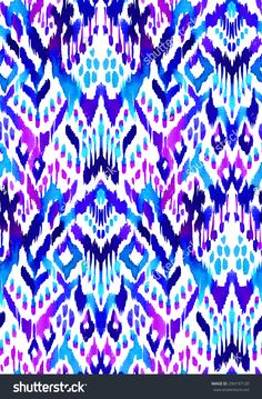 ikat pattern - Google Search