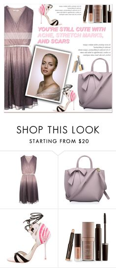 """""""Sensitive style"""" by janee-oss ❤ liked on Polyvore featuring Sophia Webster, Laura Mercier and Burberry"""