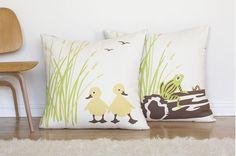 Duck Floor Pillow