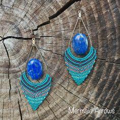 Crochet Earrings, Jewelry, Fashion, Moda, Jewlery, Jewerly, Fashion Styles, Schmuck, Jewels