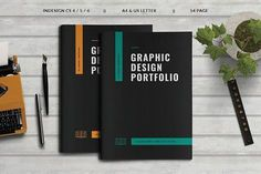 Graphic Design Portfolio by Occy Design on @creativemarket #brochure #graphicdesign #portfolio #branding #editorial #webdesign #logo #packaging #illustration #photography #agency #proposal #design