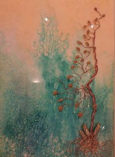 Resin Art, Wood Paneling, Abstract Art, Copper, Crystals, Stone, Gallery, Painting, Beautiful