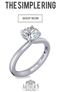 Simple round diamond engagement ring available at Arthur's Jewelers. Cheap Engagement Rings, Round Diamond Engagement Rings, Engagement Ring Styles, Solitaire Engagement, Affordable Rings, Wedding Jewelry, Wedding Rings, Pretty Rings, Fashion Rings