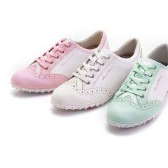 Duca Del Cosma Ladies Italian Golf Shoe Mila Pink | #Golf4Her #GolfShoe #Sale