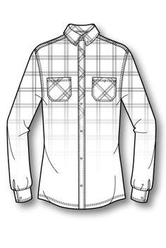 A/W 15/16 Women's Sport Key Items: Outdoors-slim fit gradient shirt