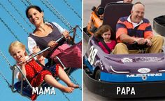 9 Photos Illustrating How PaPa And MaMa Act Differently