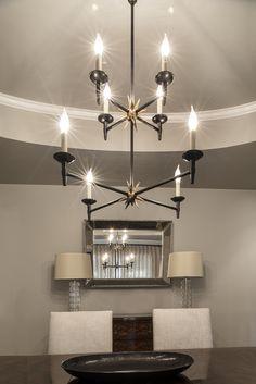 Neutral dining room. Design // Austin Bean Design Studio