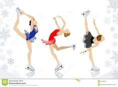 amazing figure skating drawings - Google Search