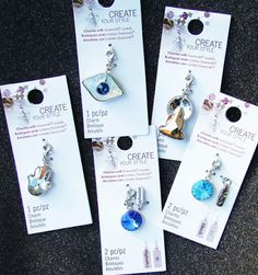 Thinking of celebrating the holiday's with a festive party? Stop by your local @michaelsstores  to purchase Charms Made with Swarovski Crystals. Your friends will enjoy celebrating the holidays crafting together a gorgeous Swarovski crystal design.  #cousindiy #diy #swarovski #charms #charmsmadewithswarovskicrystals #holiday #holidaycharm #festive #diyproject #design #create