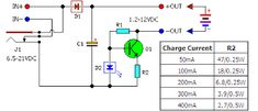 Here is the circuit diagram of a low cost universal charger for NiCD - NiMH batteries. This circuit is Ideal for car use. Universal Battery Charger, Solar Battery Charger, Sony Led, Circuit Diagram, Solar Power System, Diy Electronics, Solar Energy, Toys, Ideas