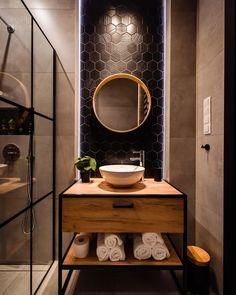Best Bathroom Designs, Bathroom Design Luxury, Modern Bathroom Decor, Bathroom Design Small, Home Interior Design, Industrial Bathroom Design, Bathroom Design Inspiration, Bad Inspiration, Design Ideas