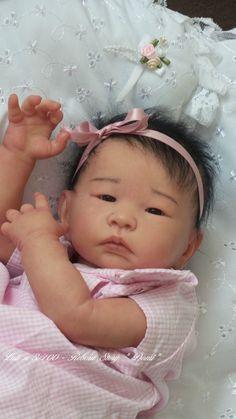 REBORN BABY DOLL, ASIAN BABY DOLL, ADRIE STOETE, REBORN STORY DOMI,